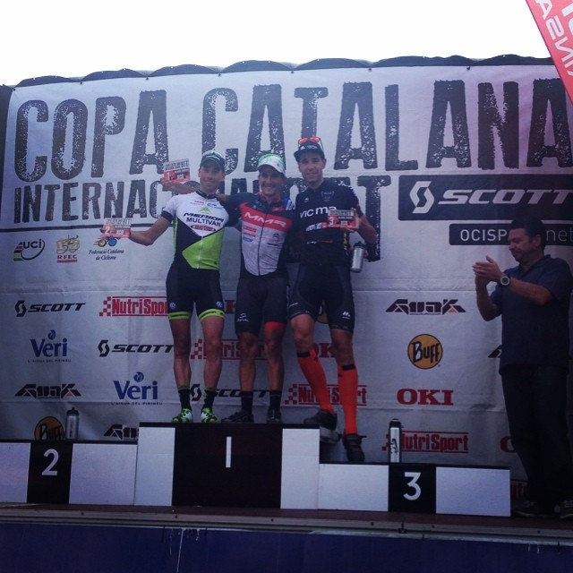 2nd at the Copa Catalana today!